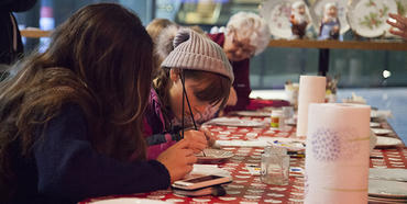 Barnas juleverksted i Kulturhuset