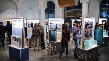 Utstillingsåpning Peace at work fra Nobel Fredssenter