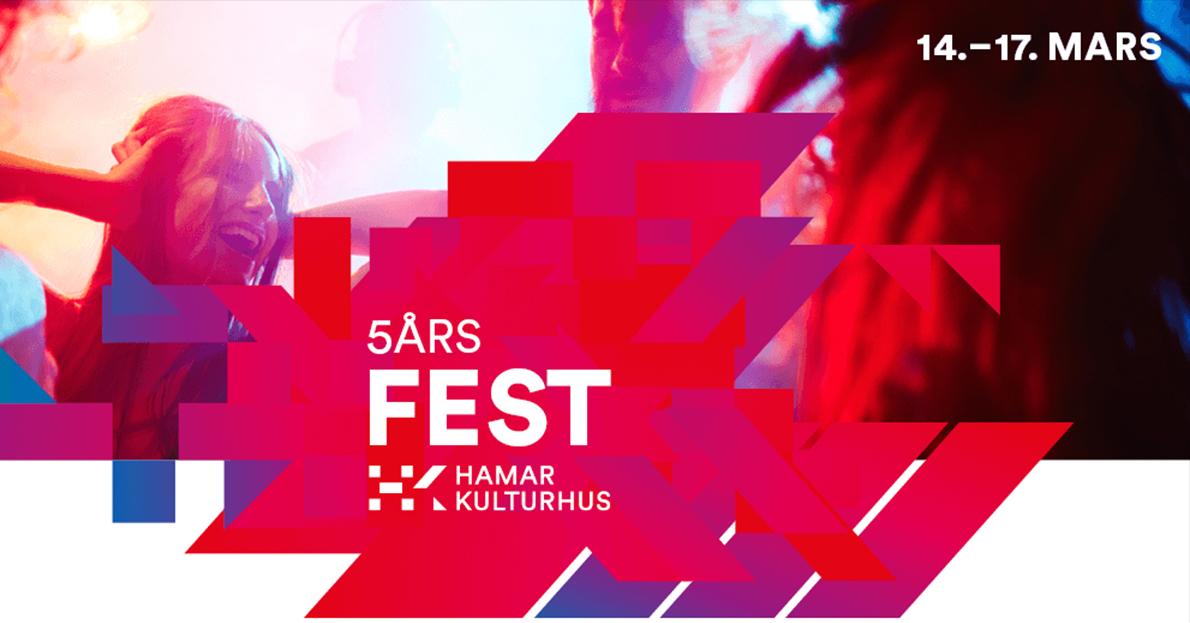 5-års fest i Hamar kulturhus